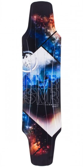 Never Summer Commander Longboard Skateboard Deck 2014 V2