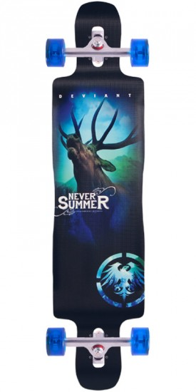 Never Summer Deviant Longboard Complete - 2015