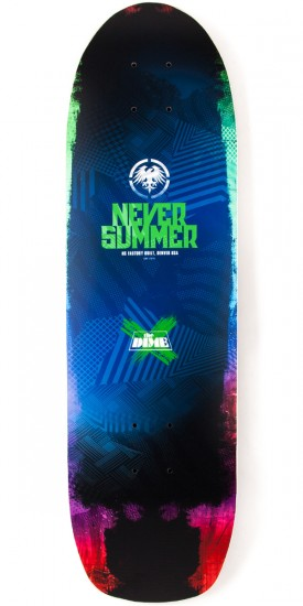 Never Summer Dime Longboard Deck