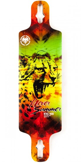 Never Summer Wingman Longboard Deck