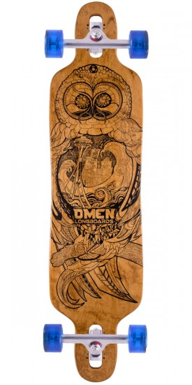 "Omen Sea Hoot 38"" Dropthrough Longboard Complete"