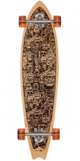 Palisades False Idols Longboard Complete - Purple