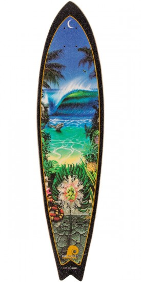 Palisades Midnight Light Longboard Complete