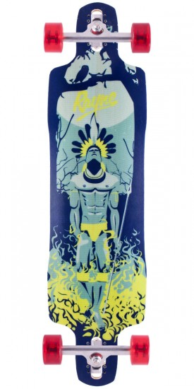 Rayne Amazon Warrior Longboard Skateboard Complete