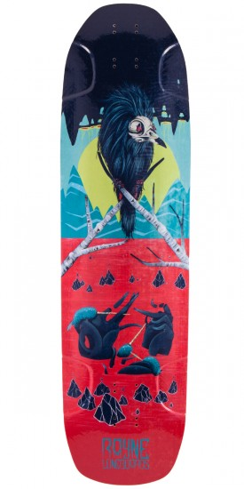 Rayne Darkside Longboard Deck - 2015