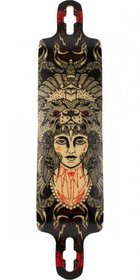 Rayne Demonseed Longboard Skateboard Deck - 2014