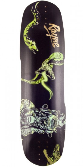 Rayne Exorcist Deep Sea Longboard Deck