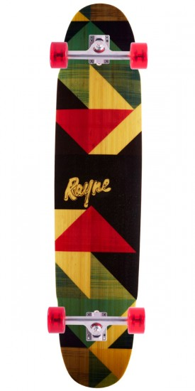 Rayne Forge V4 Geo Graphic Longboard Complete