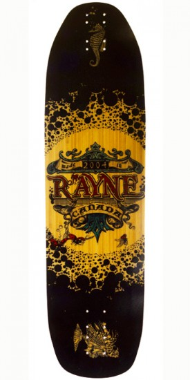 Rayne Patrick Switzer Fortune V3 Deep Sea Longboard Deck