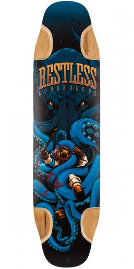 Restless FishBowl 37 Longboard Deck