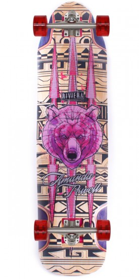 Riviera Ursa Major Amanda Powell Pro Model Longboard Skateboard Complete