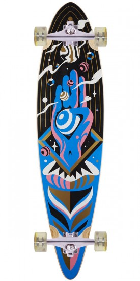 Rout The Architect Pintail Longboard Complete - Blem