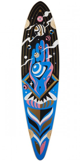 Rout The Architect Pintail Longboard Deck - Blem