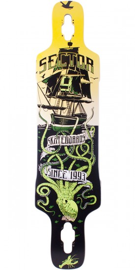 Sector 9 Dropper Longboard Deck - Green 2014 - Scratched