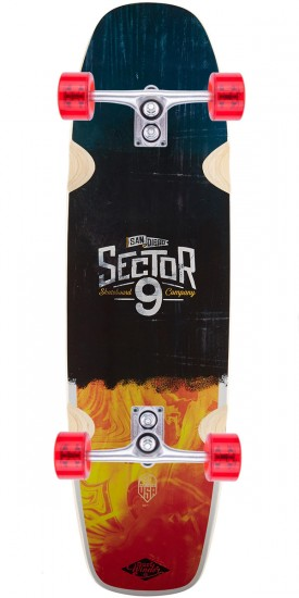 "Sector 9 Barra Soap Longboard Complete - 31.3"" - Blem"