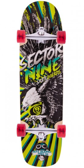Sector 9 Budro 36 Longboard Complete - 2015 - Green - Blem