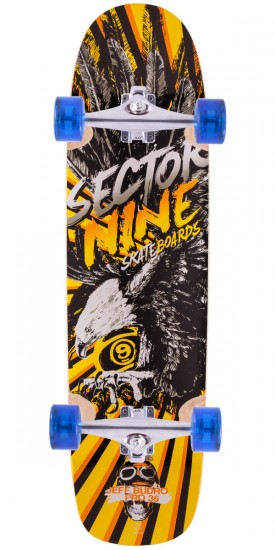 Sector 9 Budro 36 Longboard Complete - Yellow