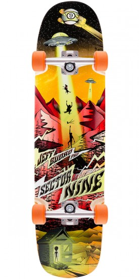 Sector 9 Budro Pro Longboard Complete - Red