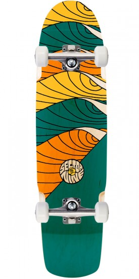 Sector 9 Cyclone Longboard Complete - Blue