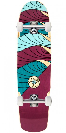 Sector 9 Cyclone Longboard Complete - Maroon