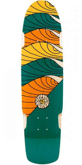 Sector 9 Cyclone Longboard Deck - Blue