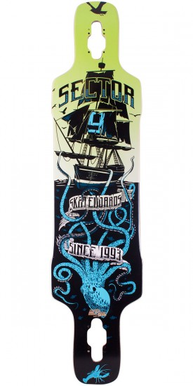 Sector 9 Dropper Longboard Deck - Blue 2014 - Scratched