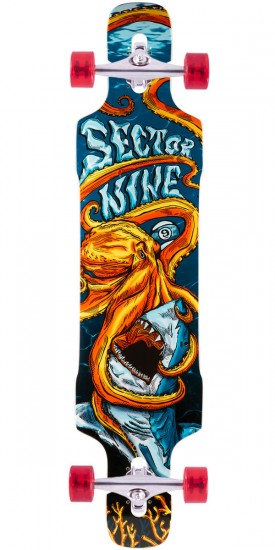 Sector 9 Dropper Longboard Complete - Orange