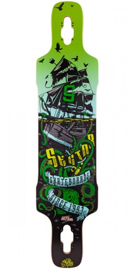 Sector 9 Dropper Longboard Deck - 2015 - Green