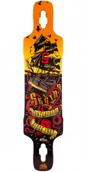 Sector 9 Dropper Longboard Deck - 2015 - Red - Blem