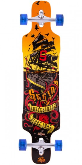 Sector 9 Dropper Longboard Complete - 2015 - Red - Blem