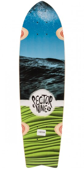 Sector 9 Floater Longboard Deck - Blue
