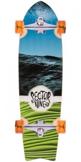 Sector 9 Floater Longboard Complete - Blue