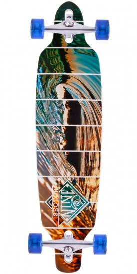 Sector 9 Fractal Longboard Complete - 2015 - White