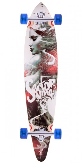 Sector 9 Goddess Longboard Complete
