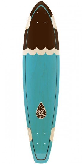Sector 9 Highline Longboard Deck - Blue