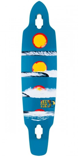 Sector 9 Horizon Longboard Skateboard Deck - Blue