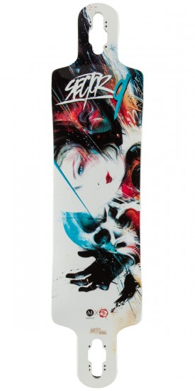 Sector 9 Kiss of Death Longboard Deck - Blem