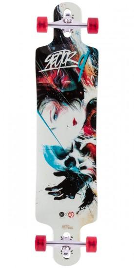 Sector 9 Kiss of Death Longboard Complete