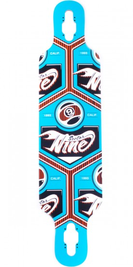 "Sector 9 Seeker 37"" Longboard Skateboard Deck - Blue - Blem"