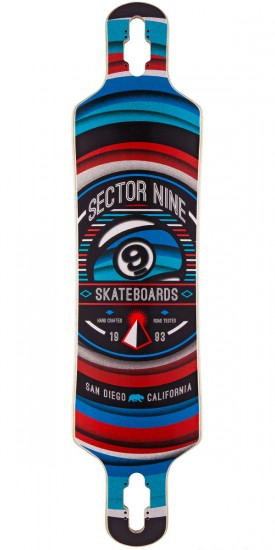 Sector 9 Meridian Longboard Deck - 2015 - Red