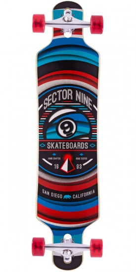 Sector 9 Meridian Longboard Complete - 2015 - Red