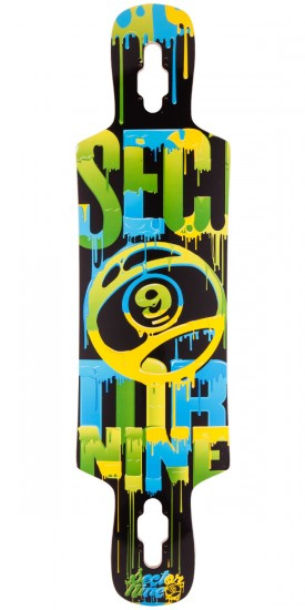 Sector 9 Sprocket Longboard Deck 2015 - Green - Blem