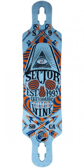 "Sector 9 Seeker 39"" Longboard Skateboard Deck - Blue 2014"