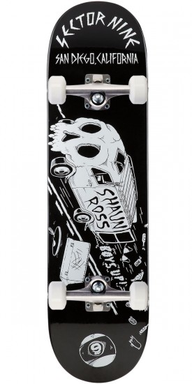 Sector 9 Shaun Ross Pro Skateboard Complete - 8.8