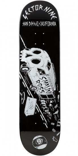 Sector 9 Shaun Ross Pro Skateboard Deck - 8.8
