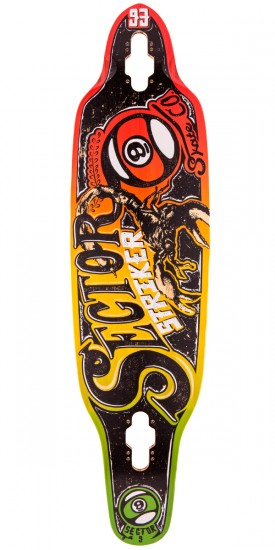 Sector 9 Striker Longboard Deck - 2015 - Rasta