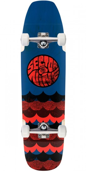 Sector 9 Swellhound Longboard Complete - Blue