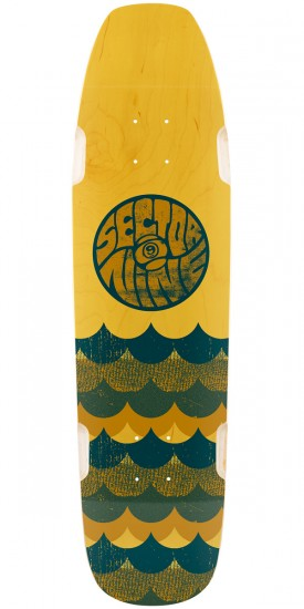 Sector 9 Swellhound Longboard Deck - Yellow
