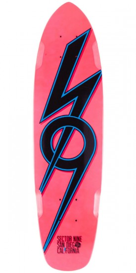 Sector 9 The 83 Longboard Skateboard Deck - Pink 2014