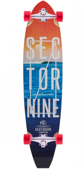 Sector 9 Voyager Longboard Complete - Blue